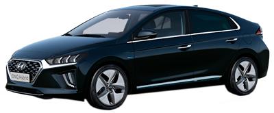 alquiler de coches híbridos Hyundai IONIQ